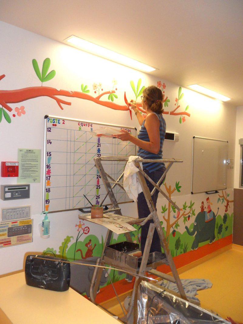 Les Fresques D 201 Milie Chollat Service De N 233 Onatologie H 244 Pital Port Royal Les Fresques D 201 Milie