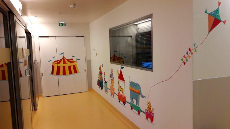chapiteau couloir