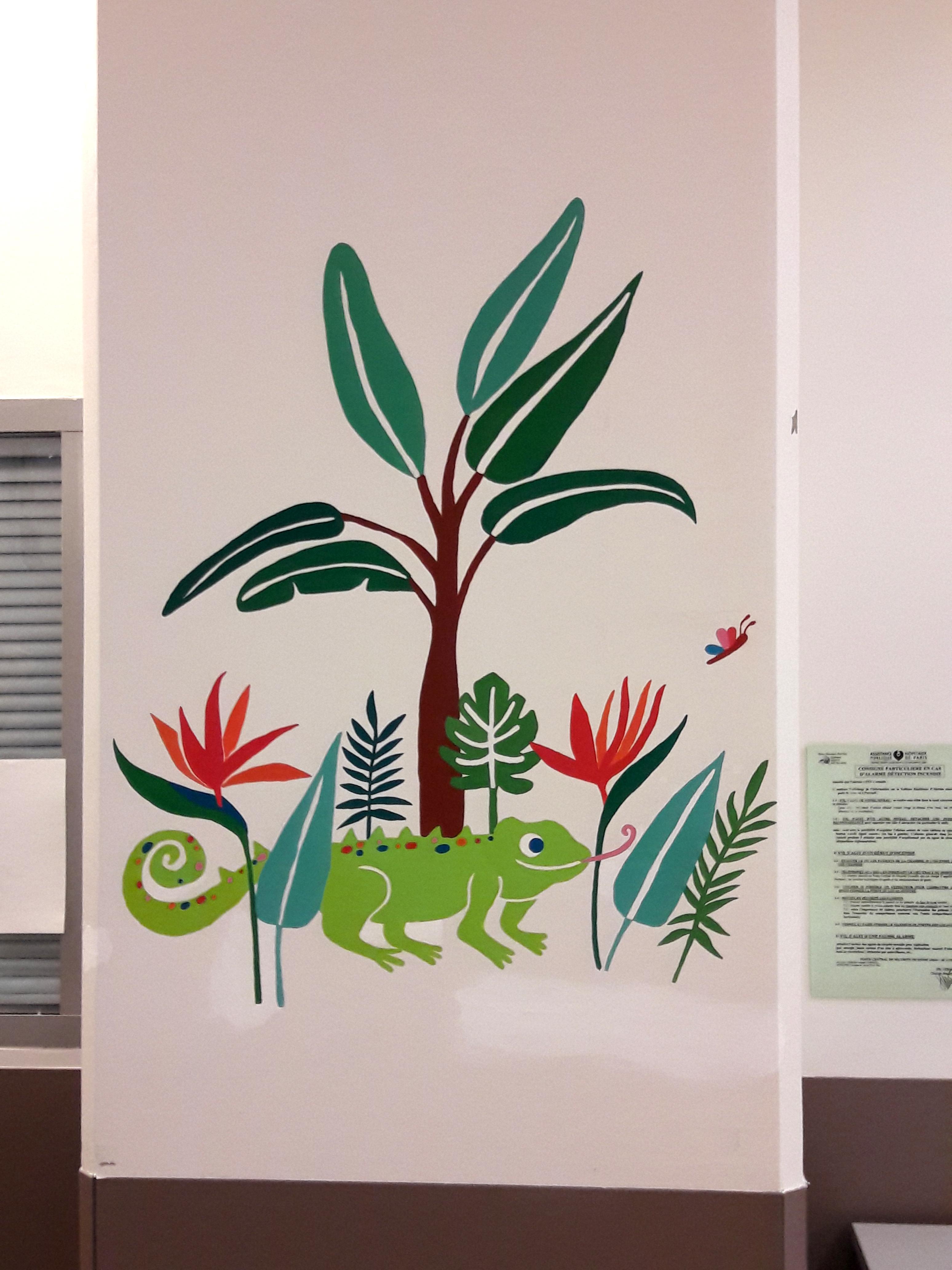 Cameleon les fresques d 39 milie chollat - Hopital port royal service gynecologie ...