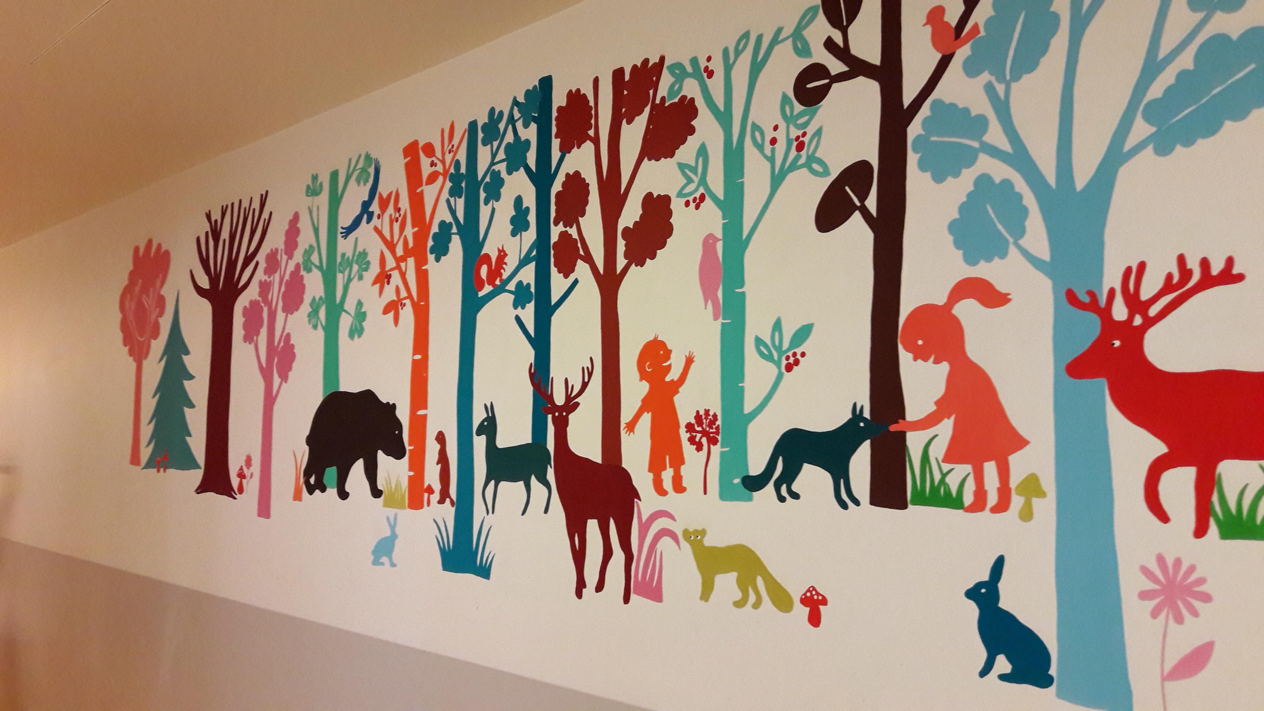 Rea grande fresque les fresques d 39 milie chollat - Hopital port royal service gynecologie ...