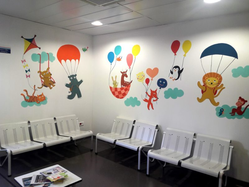 salle d' attente